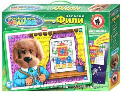 Мозаика для детей Загадки от Фили