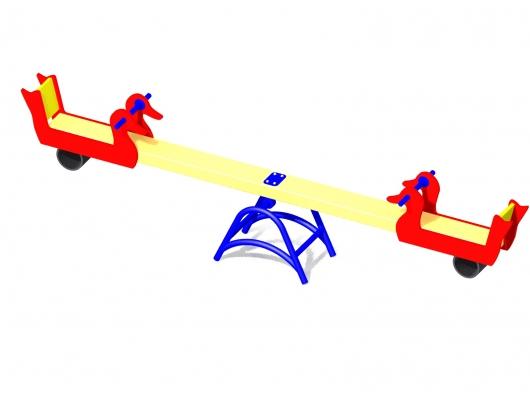 Качалка балансир для детской площадки купить в Воронеже в интернет-магазине robinzoniya.ru.