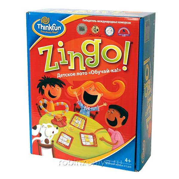Детское лото Обучай-ка Зинго от Thinkfun купить в интернет-магазине robinzoniya.ru.
