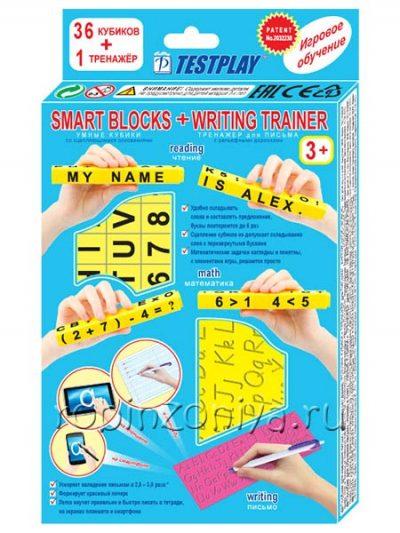 Умные кубики с тренажером для письма, английский язык