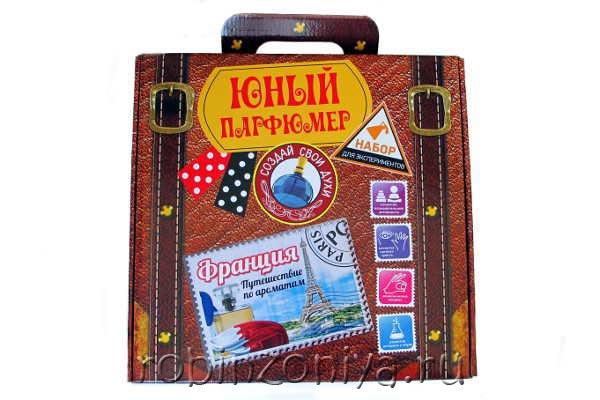 Набор для создания духов Юный парфюмер Франция купить в интернет-магазине robinzoniya.ru.