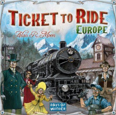 Настольная игра Билет на поезд Европа Ticket to Ride Europe