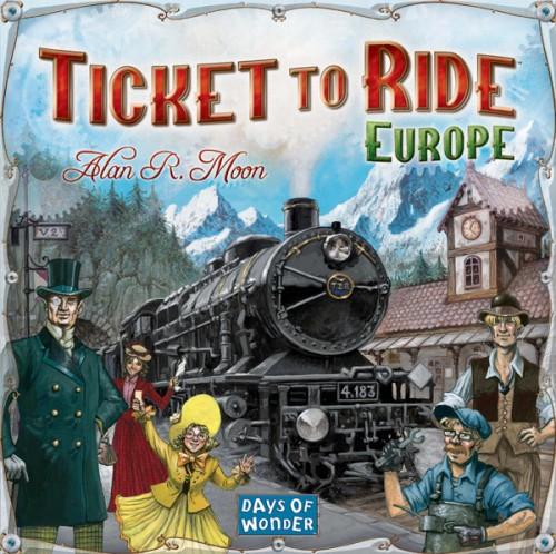 Настольная игра Билет на поезд Европа купить в интернет-магазине robinzoniya.ru.