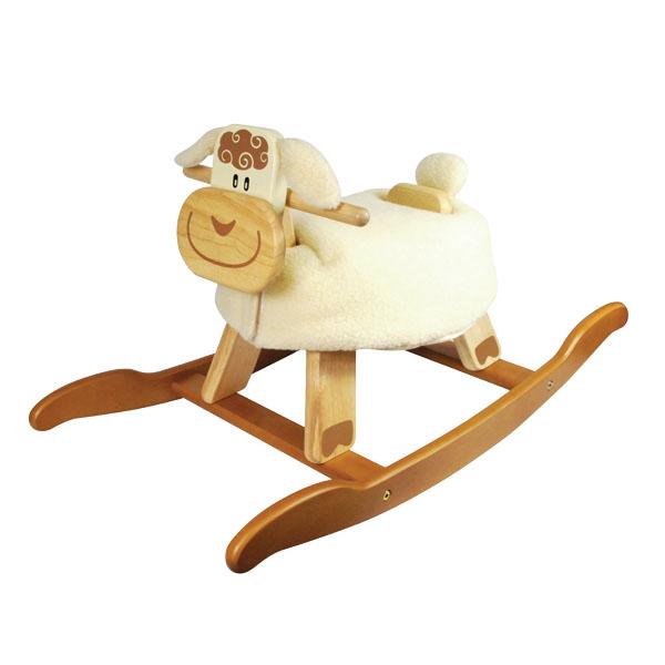 Качалка детская овечка I m toy купить в интернет-магазине robinzoniya.ru.
