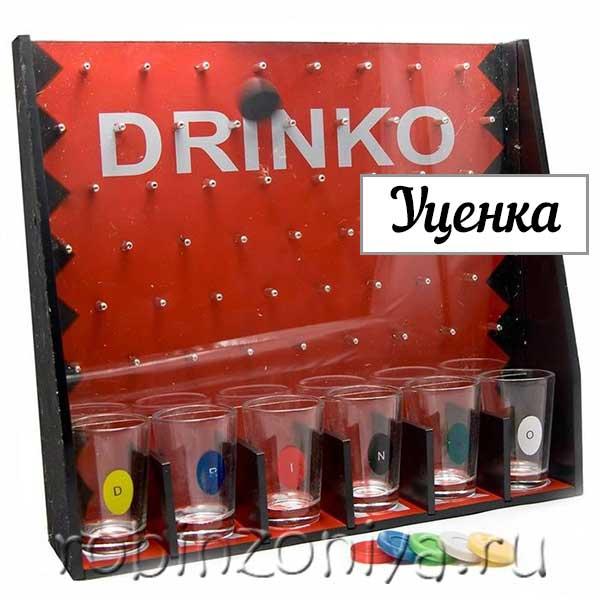 Алкоигра для вечеринок Drinko с уценкой купить с доставкой по России в интернет-магазине robinzoniya.ru.