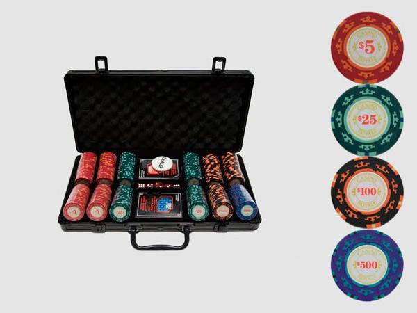 Набор для покера Casino Royale на 300 фишек купить в Воронеже в интернет-магазине robinzoniya.ru.