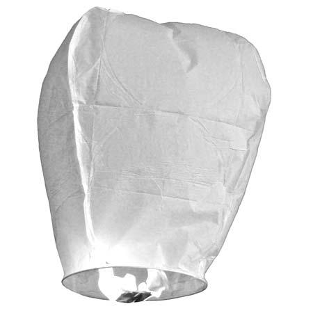 Небесный фонарик белый купить в интернет-магазине robinzoniya.ru.