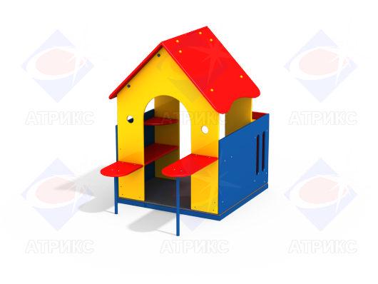 Домик беседка МФ 5.09 для детской площадки купить в Воронеже в интернет-магазине robinzoniya.ru.
