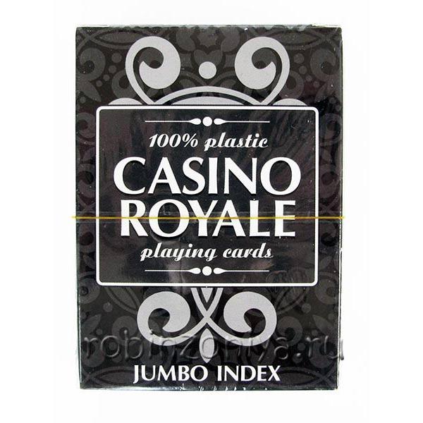 Пластиковые карты для покера Casino Royal