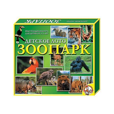 Детское лото Зоопарк купить в интернет-магазине robinzoniya.ru.