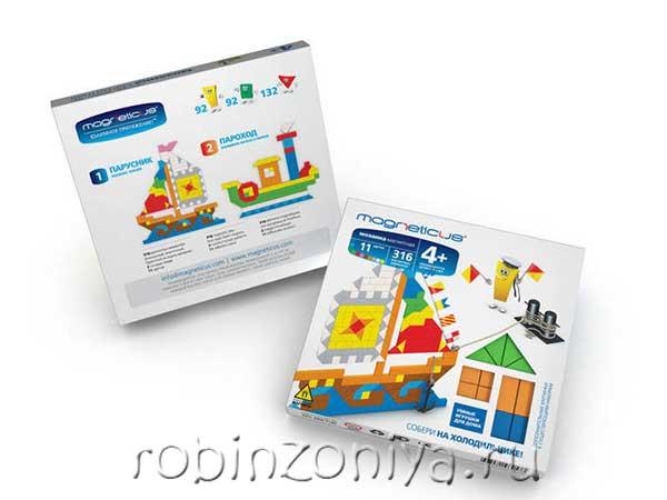 Магнитная мозаика Корабли 316 элементов купить с доставкой по России в интернет-магазине robinzoniya.ru.