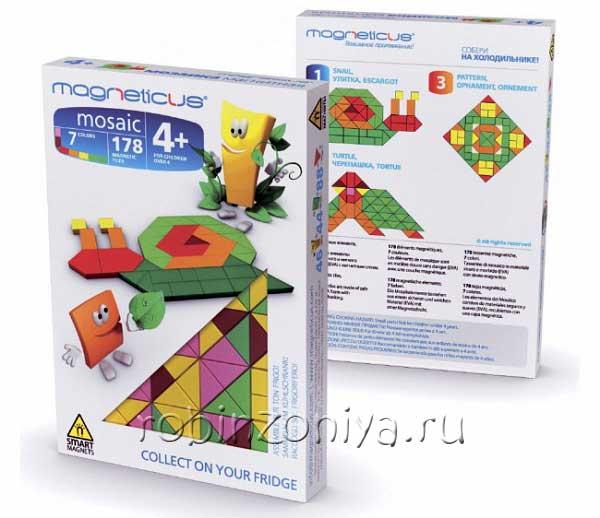 Магнитная мозаика Улитка купить в интернет-магазине robinzoniya.ru.