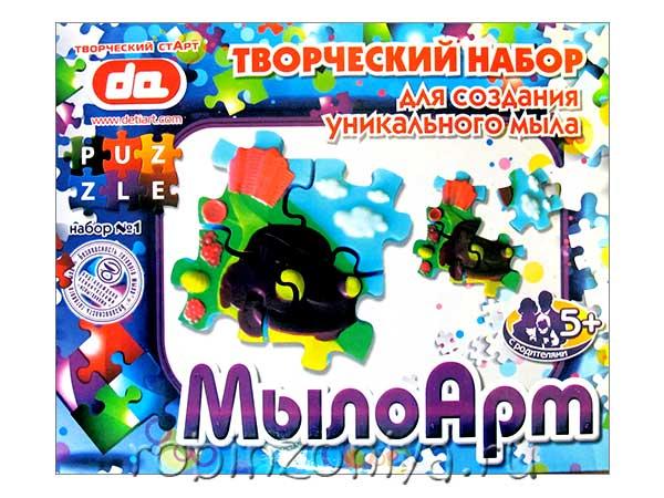 Набор для создания мыла Пазл – Машинка купить в интернет-магазине robinzoniya.ru.