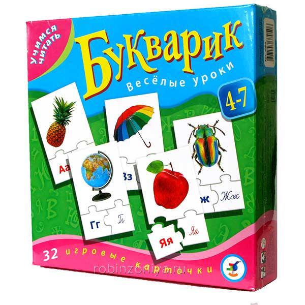 Обучающая игра Букварик Учимся читать купить в интернет-магазине robinzoniya.ru.