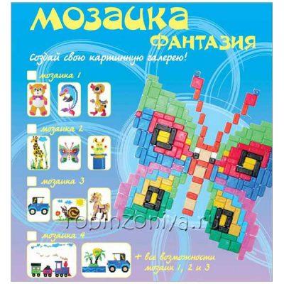 Мозаика для детей Фантазия Любимые животные