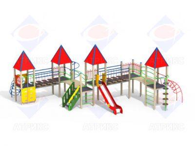 Детский игровой комплекс 4.16 H=1500