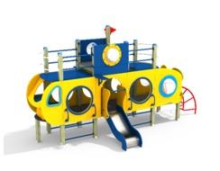 Детский игровой комплекс 2.39 Подводная лодка Н=700