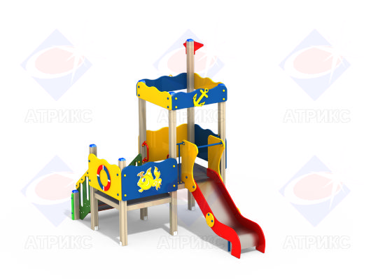 Детский игровой комплекс 2.136 купить в Воронеже в интернет-магазине robinzoniya.ru.