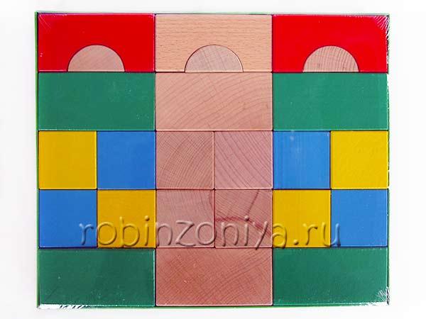 Конструктор Престиж 60 кубиков купить в интернет-магазине robinzoniya.ru.