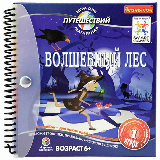 BONDIBON игра для путешествий Волшебный лес купить в интернет-магазине robinzoniya.ru.