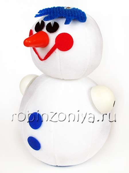 Притворщик Снеговик купить в интернет-магазине robinzoniya.ru.
