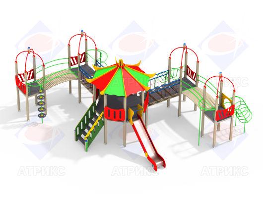 Детский игровой комплекс 9.05 купить в Воронеже в интернет-магазине robinzoniya.ru.