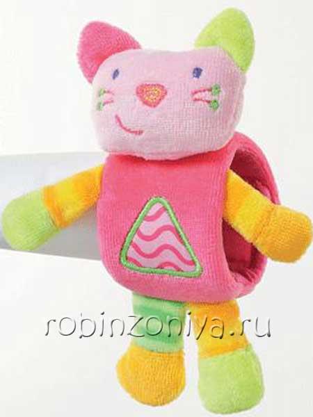 Игрушки гулливер на запястье Котенок купить в интернет-магазине robinzoniya.ru.