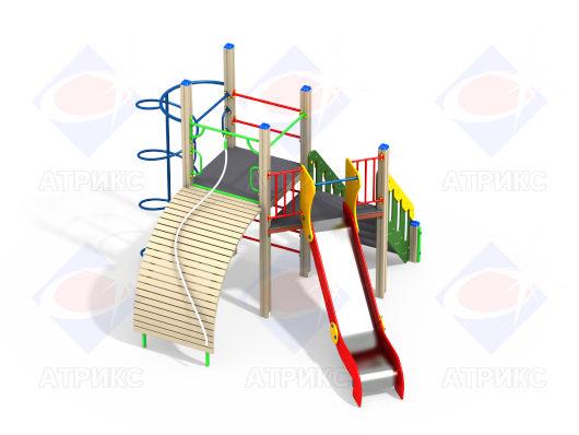 Детский игровой комплекс 2.171 купить в Воронеже в интернет-магазине robinzoniya.ru.
