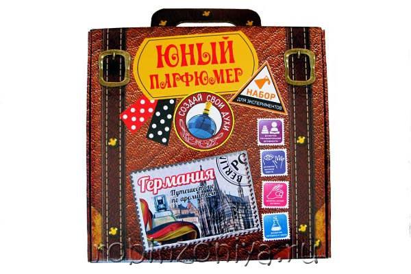 Набор для создания духов Юный парфюмер Германия купить в интернет-магазине robinzoniya.ru.
