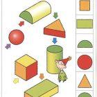 Логико-малыш Карточки к планшету Математика Проекции