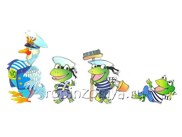 Игры Воскобовича персонажи Гусь и лягушки купить в интернет-магазине robinzoniya.ru.