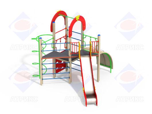 Детский игровой комплекс 2.172 купить в Воронеже в интернет-магазине robinzoniya.ru.