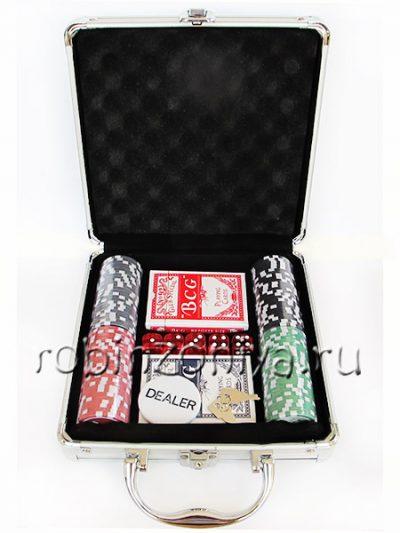 Набор для покера Nuts, 100 фишек