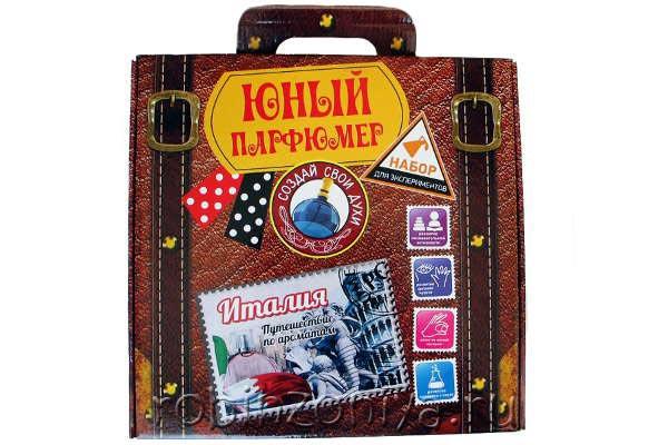 Набор для создания духов Юный парфюмер Италия купить в интернет-магазине robinzoniya.ru.