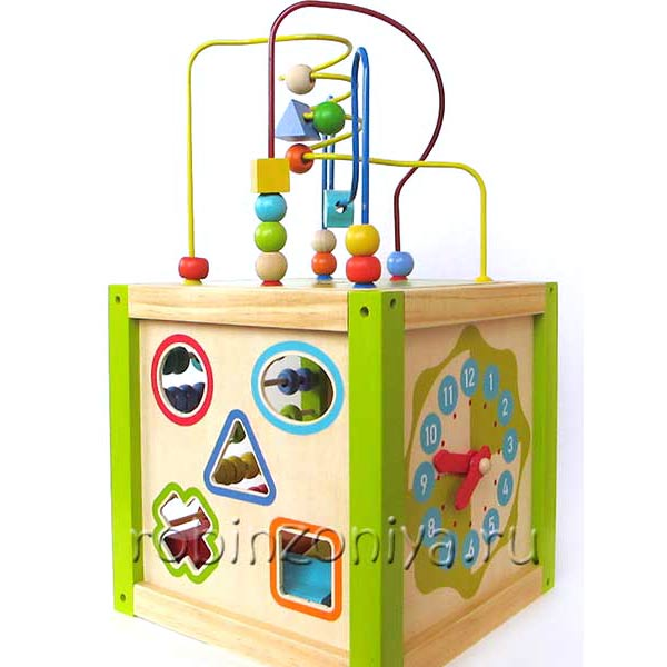 Универсальный куб Мир Деревянной игрушки