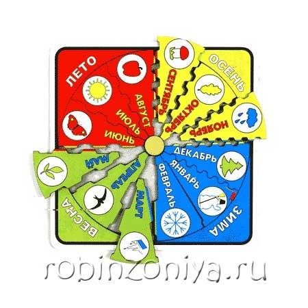 Рамка с вкладышами Год и месяцы купить купить в интернет-магазине robinzoniya.ru.