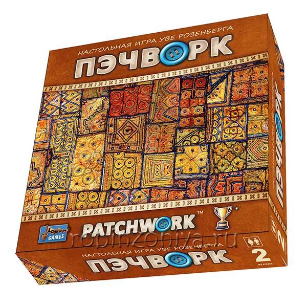 Настольная игра Пэчворк купить можно в интернет-магазине robinzoniya.ru. Доставим по России!