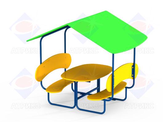 Столик с крышей МФ 2.031 купить в Воронеже в интернет-магазине robinzoniya.ru.