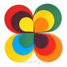 Разноцветные лепестки Магнит, Воскобович