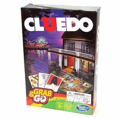 Настольная игра Клуэдо дорожная версия, Hasbro