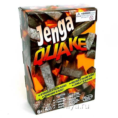Настольная игра Дженга Квейк (Jenga Quake) Hasbro.