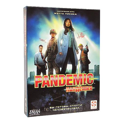 Настольная игра Пандемия купить в интернет-магазине robinzoniya.ru с доставкой по России.