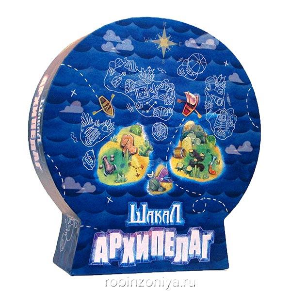Игра настольная Шакал Архипелаг купить с доставкой по России в интернет-магазине robinzoniya.ru.