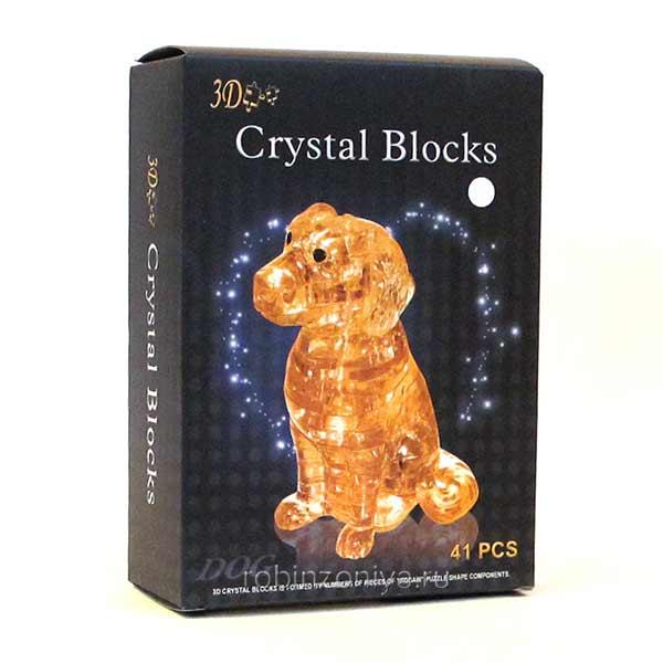 Объемная головоломка Собачка от 3d Crystal Puzzle купить с доставкой по России в интернет-магазине robinzoniya.ru.