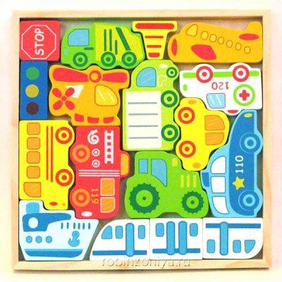 Игровой набор Транспорт Viga