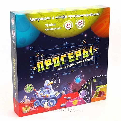 Настольная игра Прогеры Банда умников купить в интернет-магазине robinzoniya.ru.