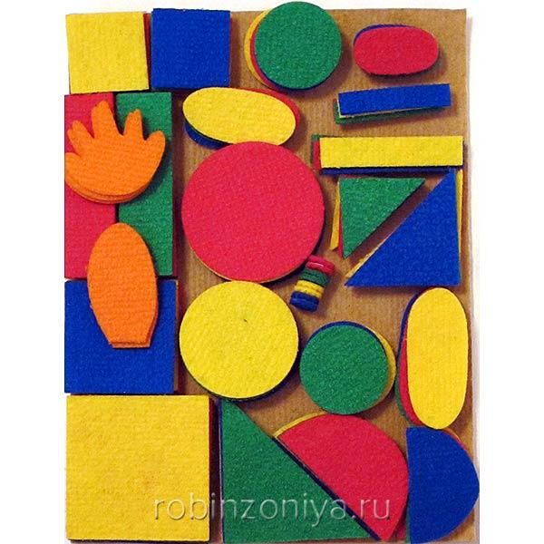 Игра на ковролине Геометрический Малыш купить в интернет-магазине robinzoniya.ru.
