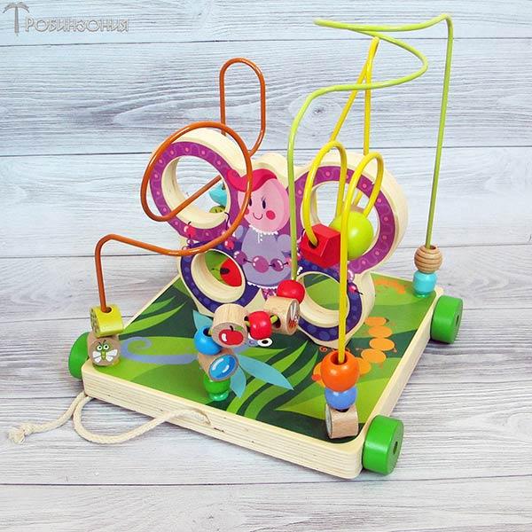 Лабиринт Бабочка Мир деревянной игрушки