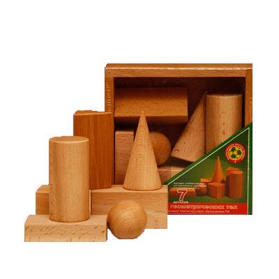 Геометрические тела деревянные купить в интернет-магазине robinzoniya.ru.