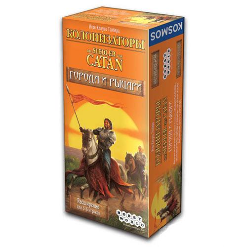 Расширение для 5-6 игроков Колонизаторы Города и рыцари купить в интернет-магазине robinzoniya.ru.